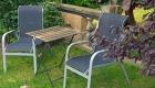 ferienhaus ferienwohnug romantische Sitzecke im Garten