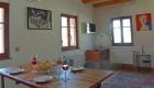 Ferienwohnung Hoflößnitz- Blick von der Küche