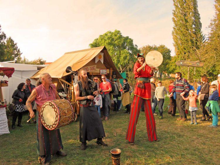 Weinfest Radebeul Mittelaltermarkt