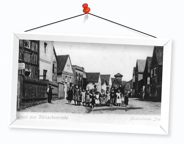 Postkarte Ferienhaus Ferienwohnung in Radebeul